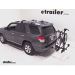 Thule Doubletrack Hitch Bike Rack Review - 2012 Toyota 4Runner