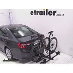 Thule Doubletrack Hitch Bike Rack Review - 2012 Toyota Camry