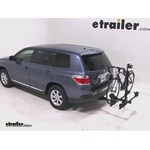 Thule Doubletrack Hitch Bike Rack Review - 2012 Toyota Highlander
