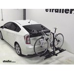Thule Doubletrack Hitch Bike Rack Review - 2012 Toyota Prius