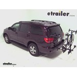 Thule Doubletrack Hitch Bike Rack Review - 2012 Toyota Sequoia