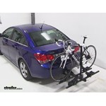 Thule Doubletrack Hitch Bike Rack Review - 2013 Chevrolet Cruze
