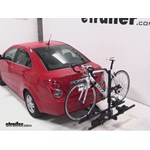 Thule Doubletrack Hitch Bike Rack Review - 2013 Chevrolet Sonic