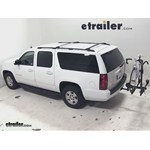 Thule Doubletrack Hitch Bike Rack Review - 2013 Chevrolet Suburban