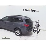 Thule Doubletrack Hitch Bike Rack Review - 2013 Chevrolet Traverse