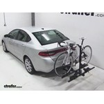 Thule Doubletrack Hitch Bike Rack Review - 2013 Dodge Dart