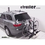 Thule Doubletrack Hitch Bike Rack Review - 2013 Dodge Durango