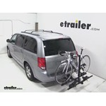 Thule Doubletrack Hitch Bike Rack Review - 2013 Dodge Grand Caravan