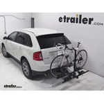 Thule Doubletrack Hitch Bike Rack Review - 2013 Ford Edge