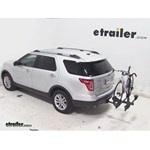 Thule Doubletrack Hitch Bike Rack Review - 2013 Ford Explorer