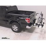 Thule Doubletrack Hitch Bike Rack Review - 2013 Ford F-150