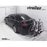 Thule Doubletrack Hitch Bike Rack Review - 2013 Ford Taurus
