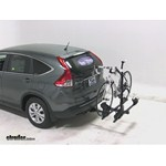 Thule Doubletrack Hitch Bike Rack Review - 2013 Honda CR-V