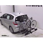 Thule Doubletrack Hitch Bike Rack Review - 2013 Honda Fit