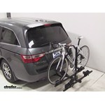 Thule Doubletrack Hitch Bike Rack Review - 2013 Honda Odyssey