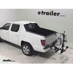 Thule Doubletrack Hitch Bike Rack Review - 2013 Honda Ridgeline