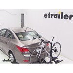 Thule Doubletrack Hitch Bike Rack Review - 2013 Hyundai Accent
