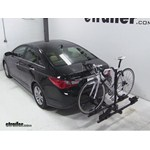 Thule Doubletrack Hitch Bike Rack Review - 2013 Hyundai Sonata