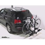 Thule Doubletrack Hitch Bike Rack Review - 2013 Kia Sorento