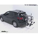 Thule Doubletrack Hitch Bike Rack Review - 2013 Mazda CX-5
