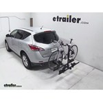 Thule Doubletrack Hitch Bike Rack Review - 2013 Nissan Murano