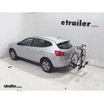 Thule Doubletrack Hitch Bike Rack Review - 2013 Nissan Rogue