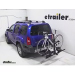 Thule Doubletrack Hitch Bike Rack Review - 2013 Nissan Xterra