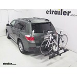 Thule Doubletrack Hitch Bike Rack Review - 2013 Toyota Highlander