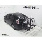Thule Doubletrack Hitch Bike Rack Review - 2013 Toyota Prius