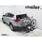 Thule Doubletrack Hitch Bike Rack Review - 2013 Toyota RAV4