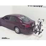 Thule Doubletrack Hitch Bike Rack Review - 2013 Volkswagen Passat