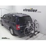 Thule Doubletrack Hitch Bike Rack Review - 2014 Chrysler Town and County