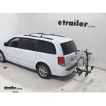 Thule Doubletrack Hitch Bike Rack Review - 2014 Dodge Grand Caravan