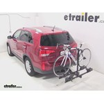 Thule Doubletrack Hitch Bike Rack Review - 2014 Kia Sorento