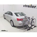 Thule Doubletrack Hitch Bike Rack Review - 2014 Chevrolet Malibu