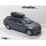 Thule Force Medium Rooftop Cargo Box Review - 2013 Volkswagen Jetta SportWagen