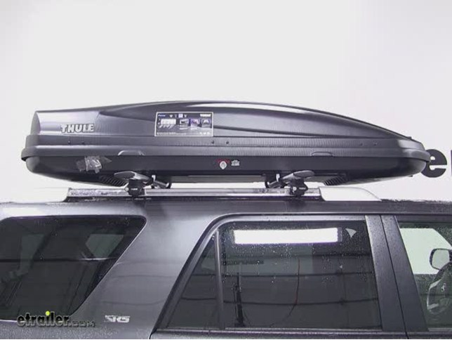 Thule Force Xl >> Thule Force Xl Rooftop Cargo Box Review 2012 Toyota 4runner