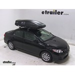 Thule Force XL Rooftop Cargo Box Review - 2013 Toyota Corolla