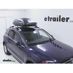 Thule Force Large Rooftop Cargo Box Review - 2013 Volkswagen Touareg