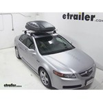 Thule Force Medium Rooftop Cargo Box Review - 2006 Acura TL