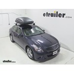 Which Is The Smallest Roof Mounted Cargo Box That Will Fit
