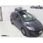 Thule Force Large Rooftop Cargo Box Review - 2012 Mazda 5