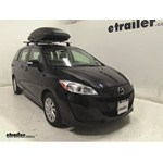 Thule Force Large Rooftop Cargo Box Review - 2013 Mazda 5