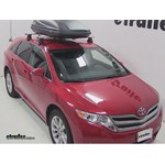 Thule Force Medium Rooftop Cargo Box Review - 2013 Toyota Venza