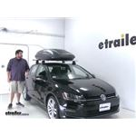 Thule Roof Box Review - 2015 Volkswagen Golf