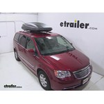 Thule Force XXL Rooftop Cargo Box Review - 2013 Chrysler Town and Country