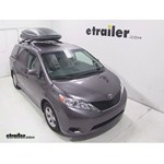 Thule Force XXL Rooftop Cargo Box Review - 2013 Toyota Sienna
