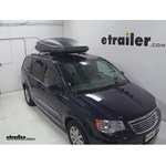 Thule Force XXL Rooftop Cargo Box Review - 2014 Chrysler Town and Country