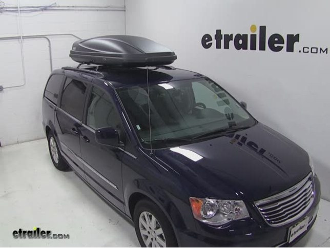 Thule Force Xxl Rooftop Cargo Box Review 2014 Chrysler Town And