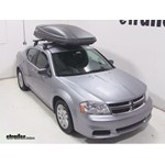 Thule Force XXL Rooftop Cargo Box Review - 2014 Dodge Avenger